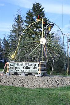 Highwheeler big wheel